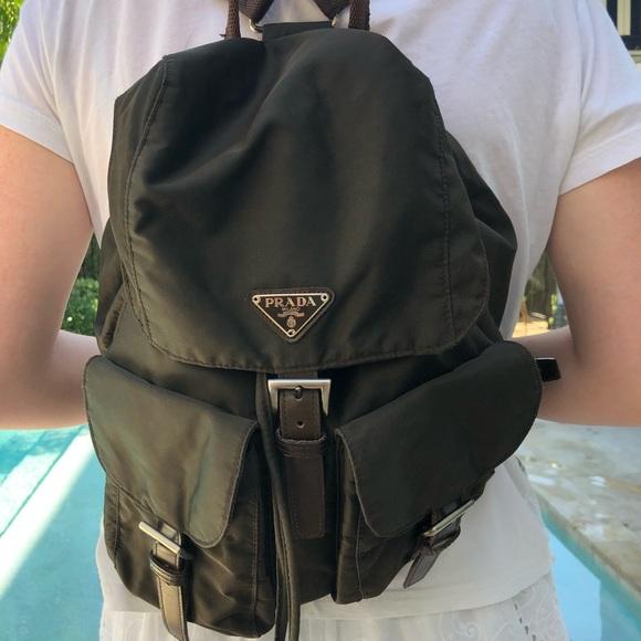6d2ff0d1c4 Vintage Prada backpack. M 5ae4cb148df4700920fc2571